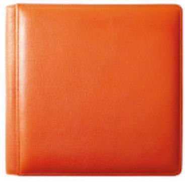 Raika 4 by 6 Photo Album, Orange by Raika