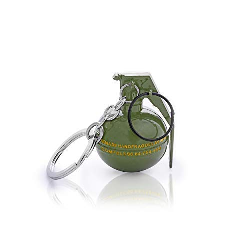 three shades pubg game playerunknown s battlegrounds special forces bomb metallic green keyring key chain amazon in bags wallets luggage three shades pubg game playerunknown s