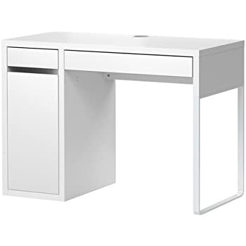 Ikea desk white micke kitchen dining - Scrivania ikea micke ...