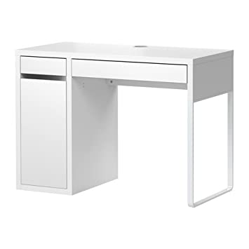 Amazon Com Ikea Adjustable Computer Desk White 41 3 8x19 5