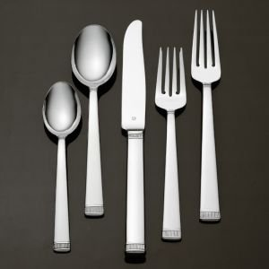 Vera Wang Chime Stainless Dinner Knife Flatware