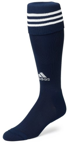 adidas Copa Zone Cushion Sock, Collegiate Navy/White, Large