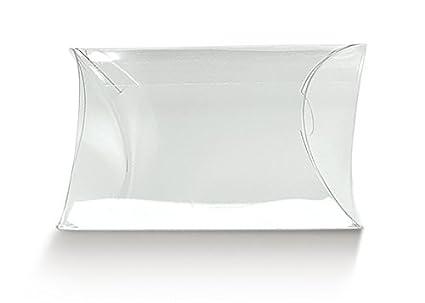 Cajas PVC acetato transparente a forma de sobres cm.13 x 10 x 3,5 unidades.50: Amazon.es: Industria, empresas y ciencia