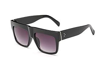 Amazon.com : GNLLYOP Kim Kardashian Fat Top Sunglasses Women ...