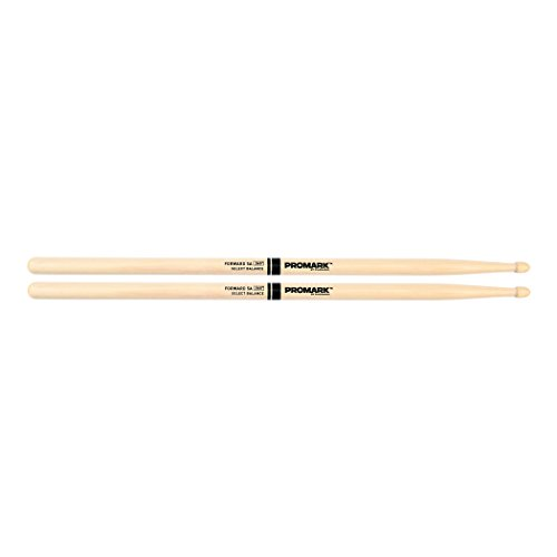 Promark FBH565AW American Hickory Forward 5A Drumsticks, Acorn Tip, Single Pair