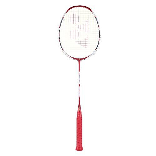 Yonex Arcsaber 11 strung Badminton Racquet   Red , G4 , 85 92 grams , 20 25 lbs