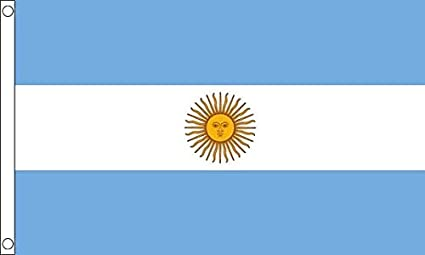 Flag of Argentina Polyester  5ft x 3ft indoor//outdoor new