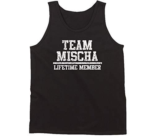 (Team Mischa Lifetime Member Pride Worn Look Name Tank Tanktop L Black)