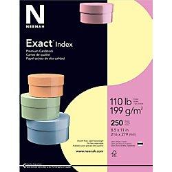 Exact Index Cardstock, 8.5