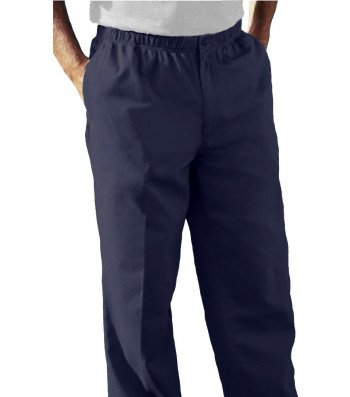 Falcon Bay  Big Mens Full Elastic Waist Casual Twill Pant  Big   Tall And Regular Sizes