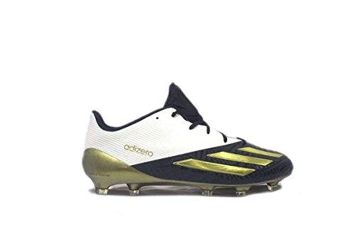 adidas Mens SM adizero 5-Star 5.0 X SP Low Football Cleats Cool Navy/Gold Metallic/White hmVqs
