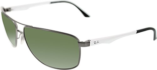 3e4739ba02 Ray Ban RB3506 Sunglasses-029 9A Matte Gunmetal (Polarized Green Lens)-61mm  - Buy Online in Oman.