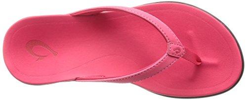 Hoopio Scuro Rosa Copper Scuro Sandal Ibisco rosa Woman jave Brown Olukai gRvEHAw