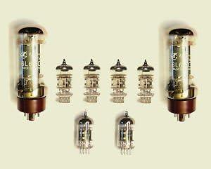 Jellyfish Audio 6l6,12ax7 & 12 AT7 Kit de válvula para ...