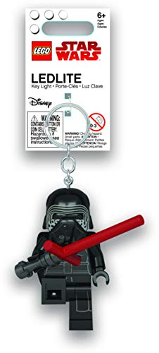 LEGO Star Wars - Kylo Ren with Lightsaber LED Key Chain Flashlight