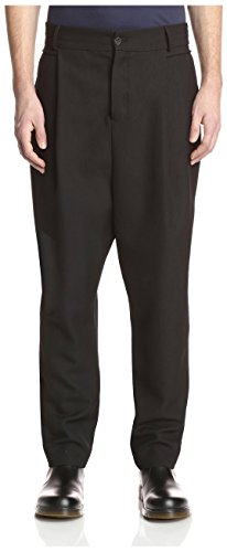 Damir Doma Men's Patia Pleated Trouser, Coal, 48 - Shop Damir Doma