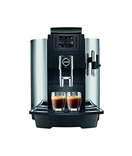 Jura 15145 Automatic Coffee Machine WE8, Chrome