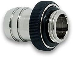 EKWB EK-HFB Barb Fitting for Soft Tubing ID 13mm 1//2 Black 6-Pack