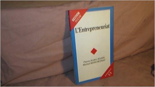 L'entrepreneuriat epub pdf