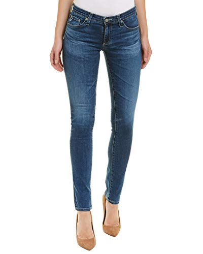 AG Adriano Goldschmied Women's Stilt Denim, Years Blue Portrait, 26