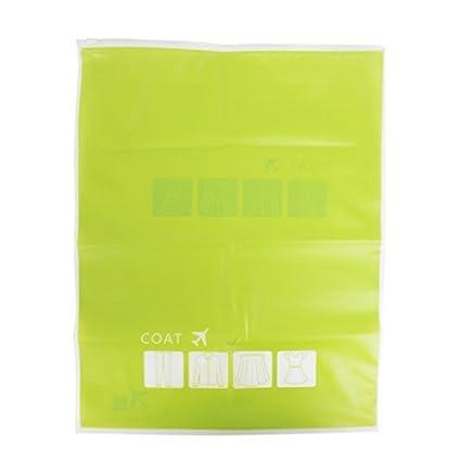 Viajes eDealMax agua Zip resistente hasta Calcetines bolsa de almacenamiento Organizador 35x45cm 2pcs