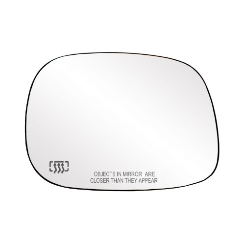 Heated Right Power Mirror (Fit System 30203 Dodge RAM 1500/2500/3500 Right Side Heated Power Replacement Mirror Glass with Backing Plate)