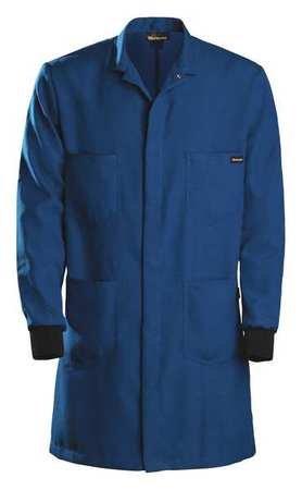 Nomex Lab Coats (Men39;s Flame Resistant Lab Coat, Blue, Nomex, XL)