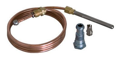Ez-Flo International 60038 36 in. Gas Thermocouple, Stainless Steel
