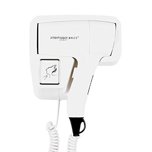Interhasa 1200W Wall Mount Hair dryer for bathroom hotel