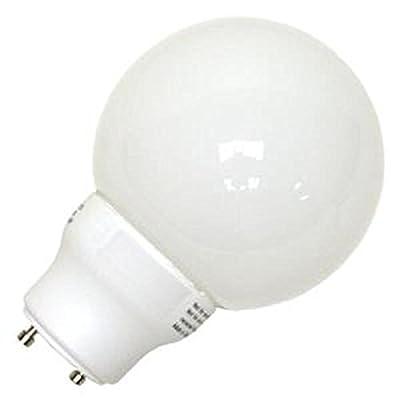 Eiko SP15G25/27K-GU24 15W 120V Globe Shaped Spiral Base Halogen Bulbs