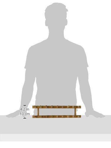 Lipper International 887 Bamboo Plate Rack/Pot Lid Holder