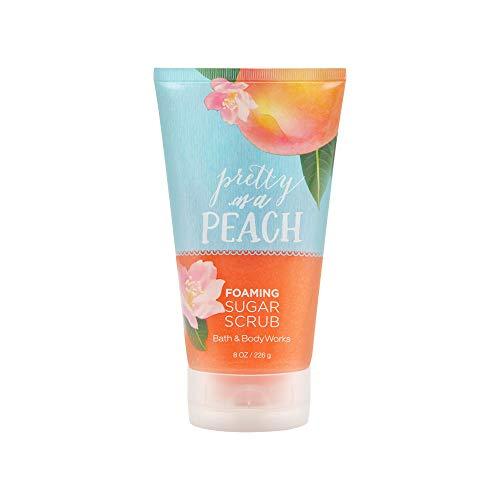 Bath & Body Works Foaming Sugar Scrub, Pretty as A Peach, 8 Ounce