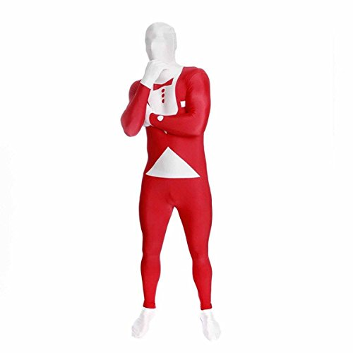 Morphsuits Premium Red Tux  XXL, Red / White, (Morphsuit Xxl)
