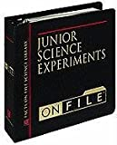 Junior Science Experiments on File, Diagram Group Staff, 0816029210