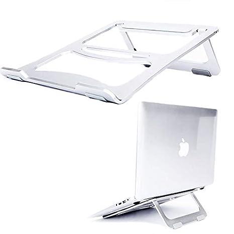 Soporte para Ordenadores Portátiles Base de Portátiles Plegable Soporte Ventilado para Computadoras Portátiles Universal y Ajustable Soporte para Notebooks ...
