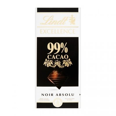 Lindt Chocolate Excellence 99% Cocoa Chocolate Bar, 1.8-Ounce (Pack of 12) by Lindt