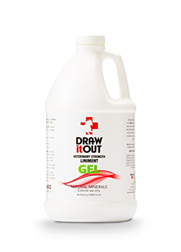 Draw It Out Veterinary Strength Liniment 64oz GEL by Draw It Out USA