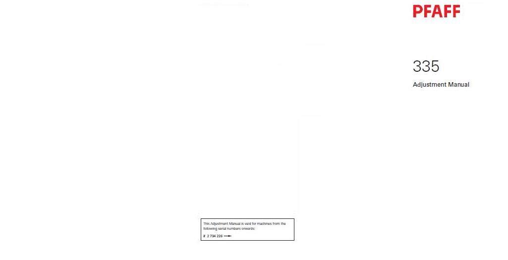 Download Pdf-File Pfaff 335 Sewing Machine: Amazon co uk: Kitchen & Home