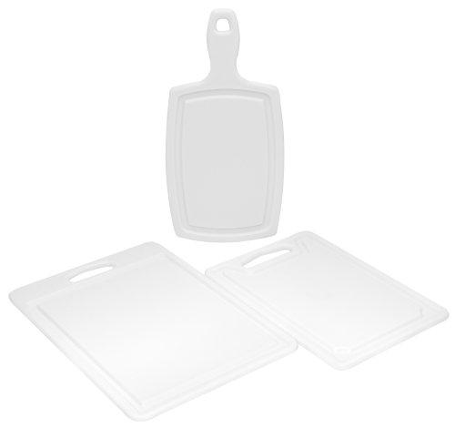 Chicago Cutlery 3-Piece Polyworks Poly Board -