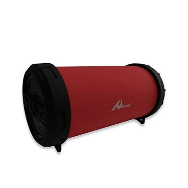Home spa-030-Enceinte Bluetooth sans Fil, Couleur Rouge 1