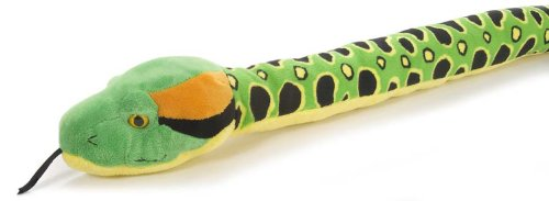 - Wild Republic Anaconda Snake Stuffed Animal, Plush Toy, Reptile, 54