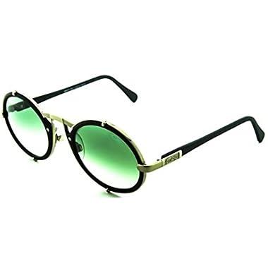 933203a87ae Cazal 644 011SG Matte Black Silver Frame Grey Gradient Lens Sunglasses 53 mm