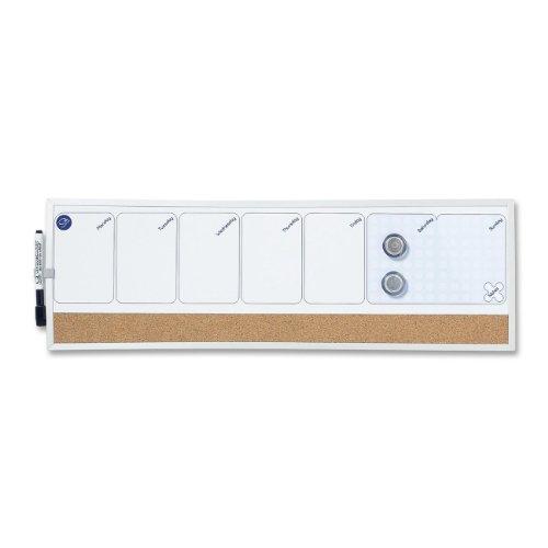 Quartet Calendar Combo, Dry-Erase and Bulletin, 7 x 23 Inches - Calendar Erase Dry Combo