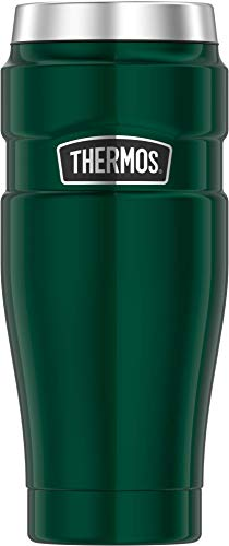Thermos Stainless King 16 Ounce Travel Tumbler Midnight