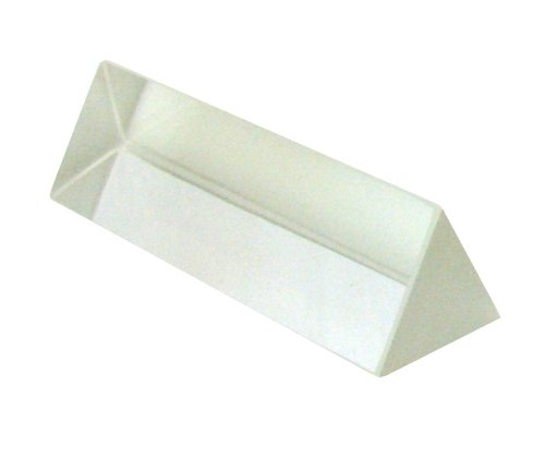 American Educational Glass Equilateral Prism, 75mm Length, 25mm Width (Bundle of 5)