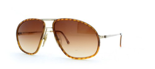 Dunhill 6093 11 Brown and Gold Authentic Men Vintage - Sunglasses Dunhill