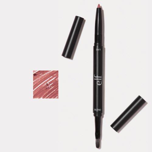 e.l.f. Lip Liner and Blending Brush 82306 Dusty Rose 0.005 o
