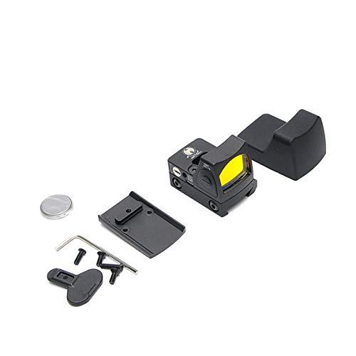 uqiangbao Mini RMR Red Dot Sight Collimator Glock/Rifle Reflex Sight Scope Fit 20mm Weaver Rail for Airsoft