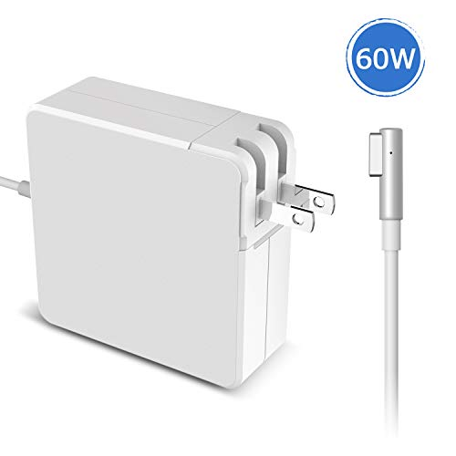 - Charger for Mac Book Pro Charger 60W Magsafe 1 Magnetic L-Tip Power Adapter Charger for Apple Mac Book Pro Compatible with for Mac Book Models Before Mid 2012