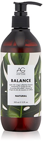 AG Hair Natural Balance Apple Cider Vinegar Sulfate-Free Shampoo, 12 fl. oz. (The Best Hair Care Products For Natural Hair)